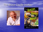 The Bruce Coville books