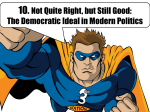 The Democratic Ideal
