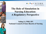 The Role of Simulation in Nursing Education: A Regulatory