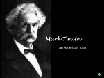 Mark Twain - ReadWriteThink