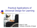 Universal Design for Learning - University of Hawaii at Hilo