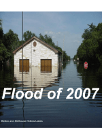 Flood of 2007 - Reservoir Control Office