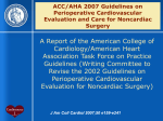 ACC/AHA 2007 Guidelines on Perioperative