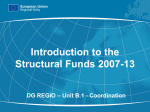 Structural Funds 2007-13 - European Commission