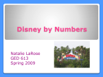 The Math of DisneyWorld