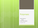 Polymers - University of Nebraska–Lincoln