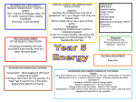 Autumn term 2014 Y5 ENERGY