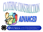 Clothing Construction - Florida 4