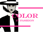 Color in Fashion PPt.
