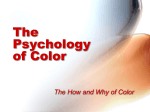 The Psychology and Science of Color