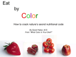 Eat By Color (PPT file)