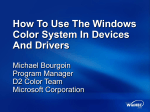 How To Use The Windows Color System In Devices And