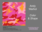 Color and Shape - Andy Warhol Museum
