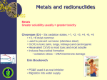 Metal and Radionuclide Bioremediation
