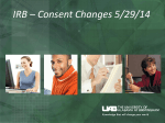 Sample Consent Changes