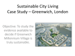 Sustainable City Living Case Study – Greenwich, London