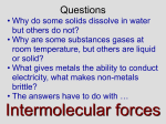 PowerPoint - Intermolecular Forces