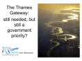 The London Thames Gateway - London School of Economics
