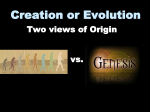 Creation or Evolution - Radford Church of Christ