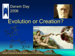 Download PowerPoint slides of Evolution debate
