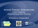 Animal Disease Emergencies - The Center for Food Security and