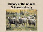 History of Animal Agriculture - University of Missouri Extension