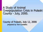 Animal Control - Pulaski County