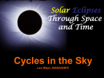 Solar Eclipse - Sun-Earth Days 2013