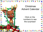 Advent Calendar PowerPoint