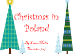 Christmas in Poland - Cullercoats Primary School