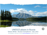 UNESCO places in Russia - Oxford Heritage Travel