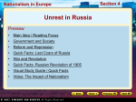 24.4 Unrest in Russia
