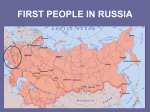 FIRST PEOPLE IN RUSSIA - Tarleton State University