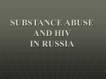 substance abuse in russia - Comprehensive Drug Research Center