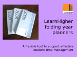 LearnHigher year planners