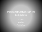 Traditional Costumes in the British Isles