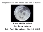 Getting to the Moon and Motion of the Moon