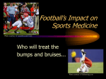 Evolution of Football and Sports Med