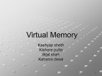 Virtual Memory Management Principles