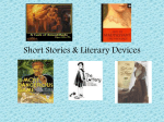 Short Story Terms / Literary Devices PowerPoint
