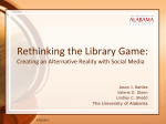 LibraryGame - ALA Connect
