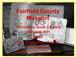 Fairfield County Museum - Olde English Consortium