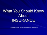 What You Should Know about Insurance