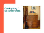 Collection management workshop