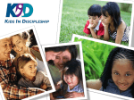 Kids In Discipleship (K.I.D.)