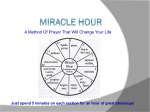 Miracle Hour - Sunday Sharing With Ruby