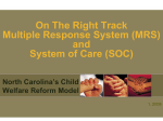 Family Centered Practice - NC Department of Health and Human