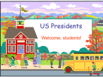 US Presidents - First Grade Class