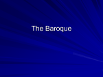 The Spirit of Baroque