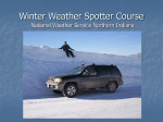 Winter Weather Spotter